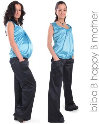 Блуза атласная для беременных