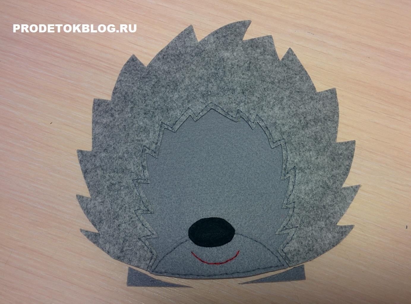 Как сделать маску ежика для маскарада своими руками? 10